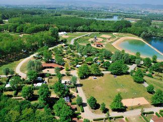 Camping du Lac de Cormoranche
