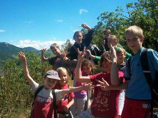 colonies de vacances Escapades en Languedoc - 6 à 10 ans - Eté / Hérault