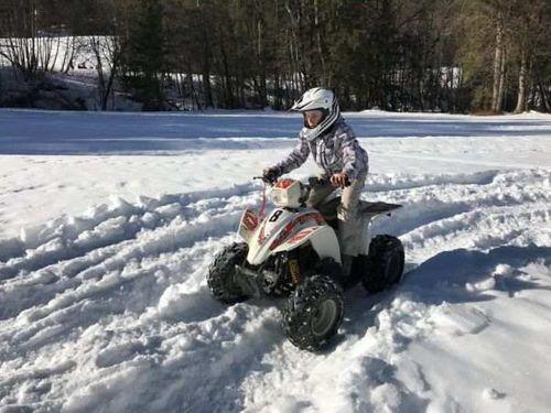 Quad des Neiges - Février / Haute Savoie