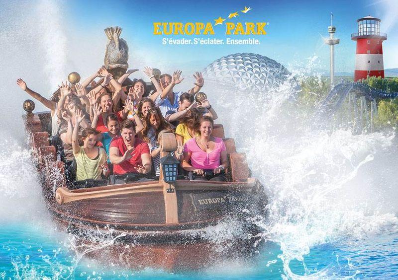 EUROPA-PARK - 2 jours de parc + 1 nuit en hôtel 3* Highway