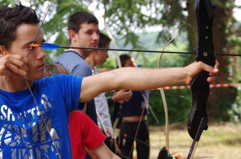SEJOUR CAMP TIR A L'ARC 7 jours - Poitiers - 8-17ans